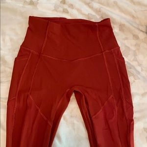 Lululemon all the right places pant-high rise